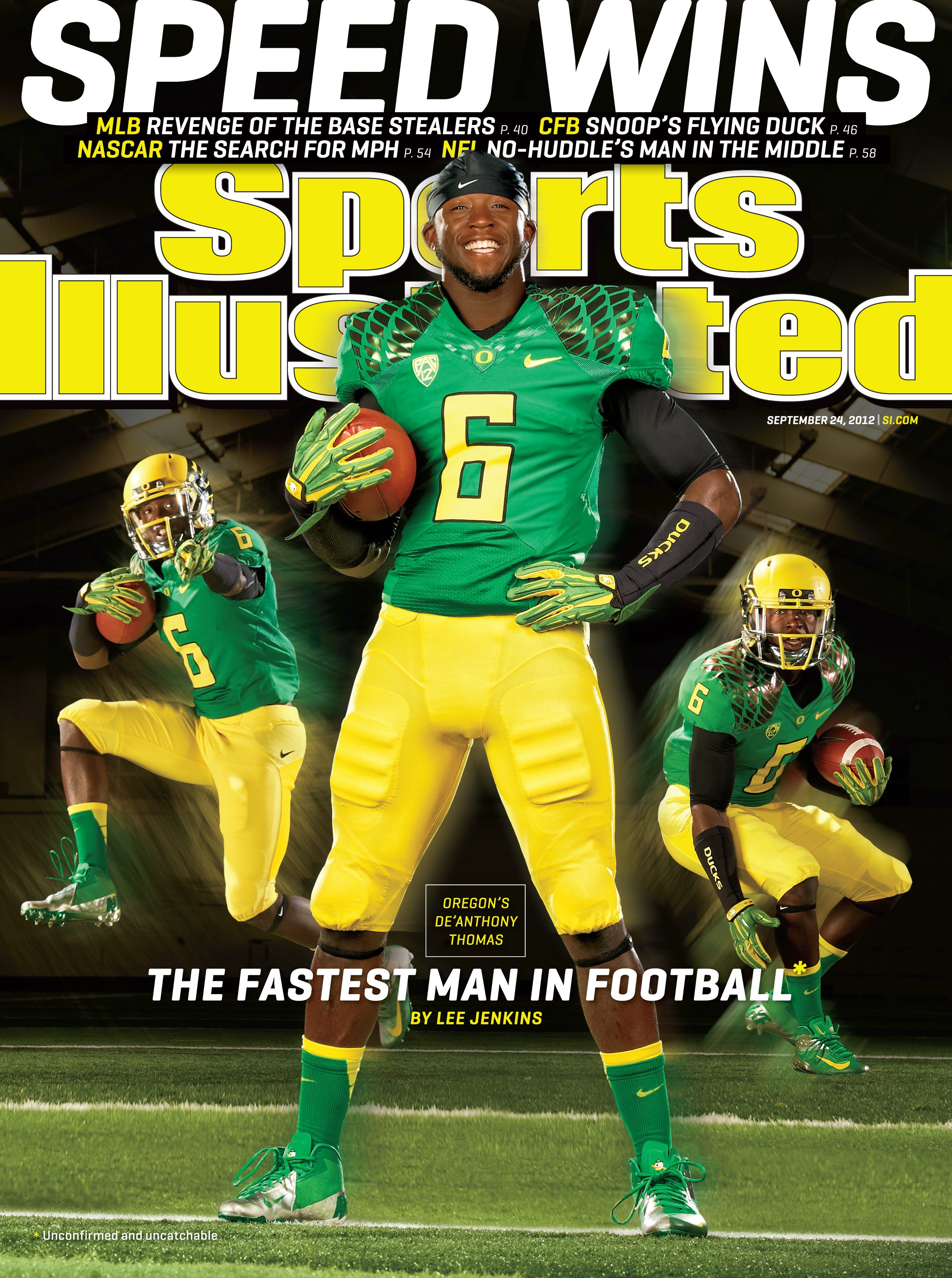 Football player profile de anthony thomas surviving college