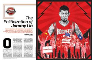 The Politicization of Jeremy Lin