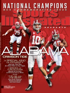 Alabama Commemorative BCS Cover