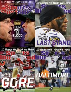 NFL Super Bowl Covers