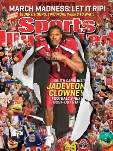 Sports Illustrated features South Carolina's Jadevon Clowney and Ohio St.'s Braxton Miller on regional covers.