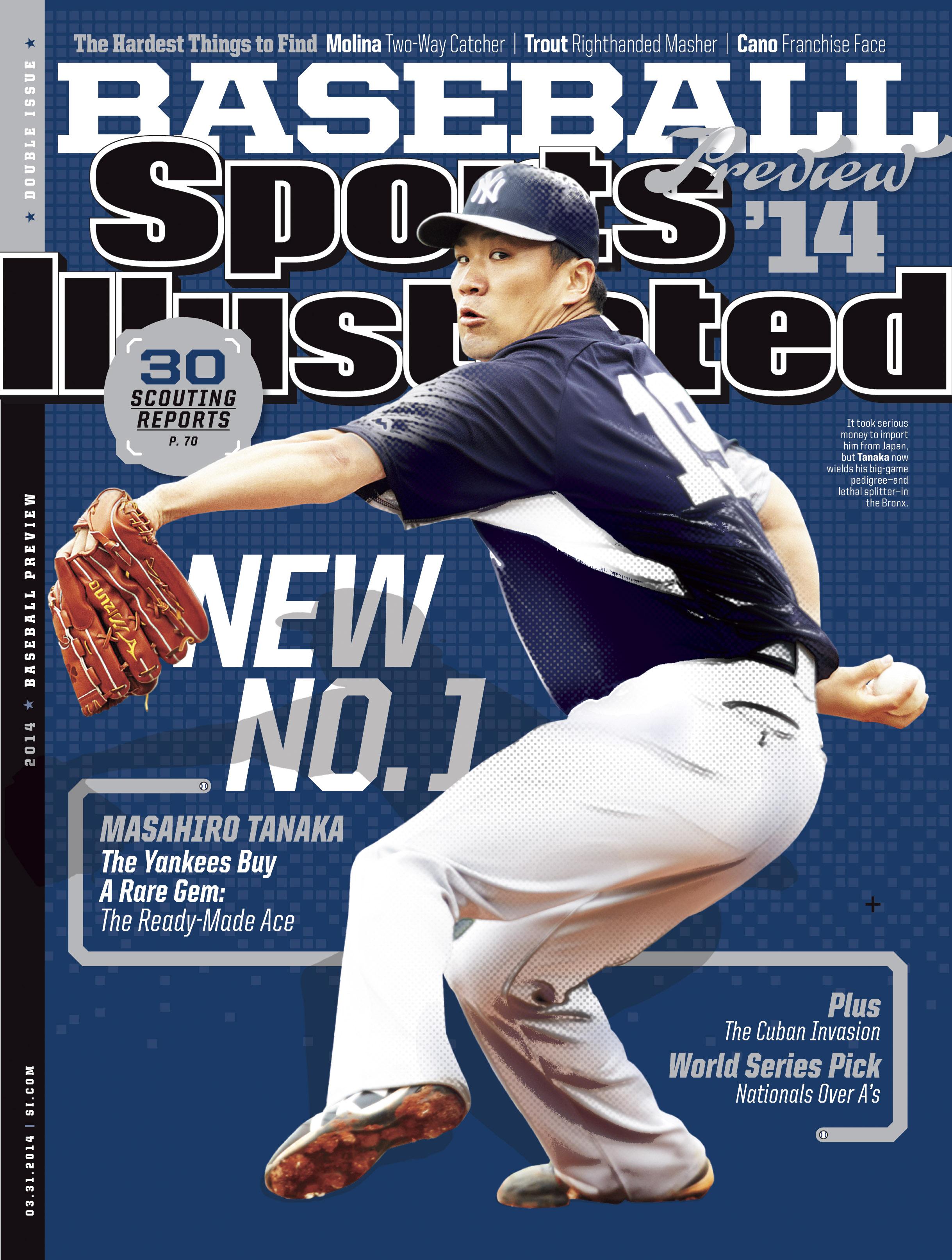 illustrated sports covers si baseball magazine espn sport tanaka mlb yankees inside molina yadier sox softball uconn series visit